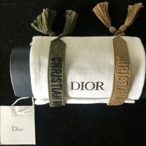 Authentic Dior bracelets